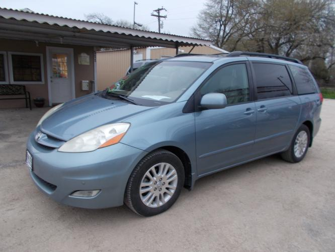 2010 BLUE /TAN TOYOTA SIENNA XLE (5TDYK4CC3AS) with an 3.5L engine, Automatic transmission - Photo #0