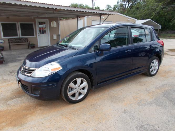 2012 BLUE NISSAN VERSA S (3N1BC1CP3CK) with an 1.8L engine, Continuously Variable transmission - Photo #0
