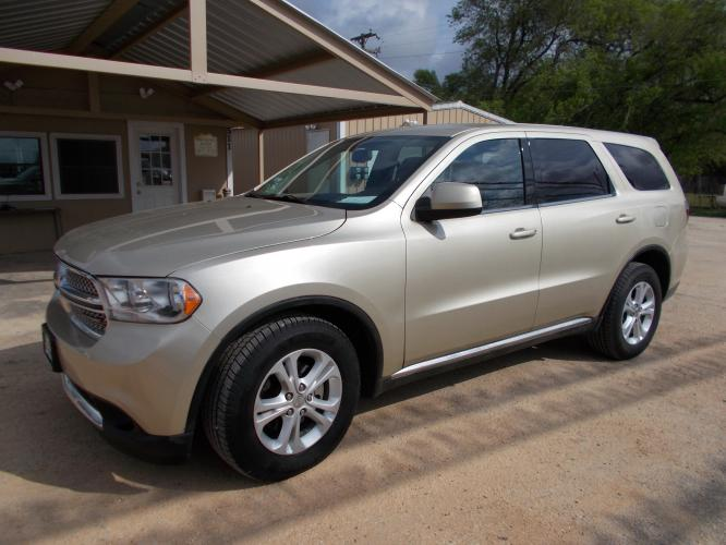 2012 GOLD DODGE DURANGO SXT SXT (1C4RDHAG1CC) with an 3.6L engine, Automatic transmission - Photo #0