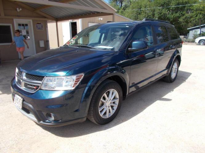 2013 BLUE DODGE JOURNEY SXT SXT (3C4PDCBG5DT) with an 3.6L engine, Automatic transmission - Photo #0